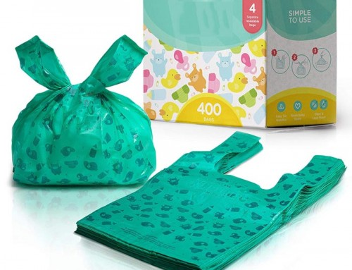 Amazon hot Product Eco Friendly Disposable Plastic Bags For Diapers