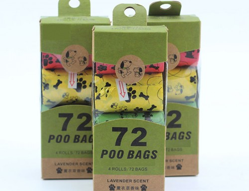 Wholesale Biodegradable Plastic Dog Poop Bags