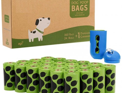 Compostable Biodegradable Corn Starch Dog Poop Bag